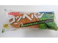 ヤマザキ コッペパン 静岡県産茶葉の抹茶入りクリーム&ホイップ