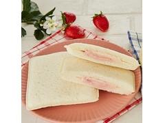 ヤマザキ ランチパック 苺クリーム&ミルククリーム