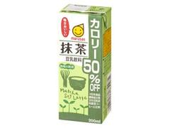 マルサン 豆乳飲料 抹茶 カロリー50%オフ パック200ml