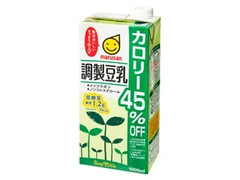 マルサン 調整豆乳 カロリー45%オフ パック1000ml