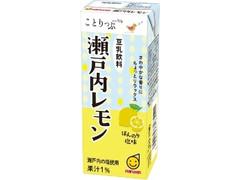 マルサン ことりっぷ豆乳飲料 瀬戸内レモン パック200ml