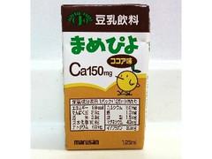 マルサン 豆乳飲料 まめぴよ ココア味 パック125ml