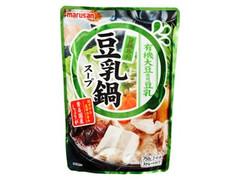マルサン 旨鍋専科 豆乳鍋スープ 袋750g