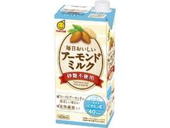 マルサン 毎日おいしいアーモンドミルク 砂糖不使用 パック1000ml