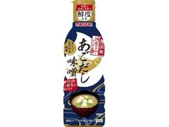 マルサン 香りつづくとろける味噌 国産原料100%みそ使用あごだし ボトル410g