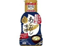 マルサン 香りつづくとろける味噌 国産原料100%みそ使用あごだし ボトル205g