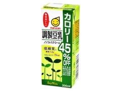 マルサン 豆乳飲料 カロリー45%OFF ノンコレストロール 低糖質 パック200ml