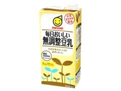マルサン 毎日おいしい 無調整豆乳 パック1000ml