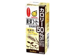 マルサン 豆乳飲料 カロリー50%OFF 麦芽コーヒー パック200ml
