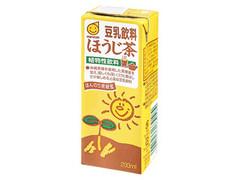 マルサン 豆乳飲料 ほうじ茶 パック200ml