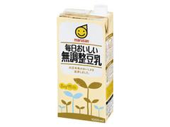 マルサン 毎日おいしい無調整豆乳 パック1L