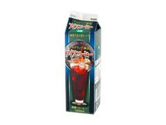 トモヱ アイスコーヒー 無糖 パック1L