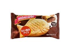 グリコ ミニセレ たい焼きアイス チョコ 袋61ml