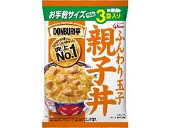 グリコ DONBURI亭 親子丼 袋180g×3