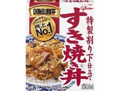 グリコ DONBURI亭 すき焼き丼