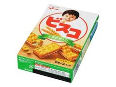 グリコ ビスコ 小麦胚芽入り 箱15枚