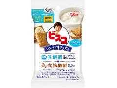 グリコ ビスコ シンバイオティクス さわやかなヨーグルト味 スペシャルデザインパック 袋5枚×2