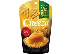 グリコ 生チーズのチーザ チェダーチーズ 袋40g