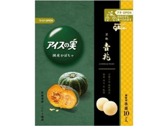 グリコ アイスの実 国産かぼちゃ 袋7ml×10