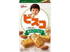 グリコ ビスコ 小麦胚芽入り 香ばしアーモンド 箱5枚×3