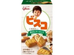 グリコ ビスコ 小麦胚芽入り 香ばしアーモンド 箱2枚×12
