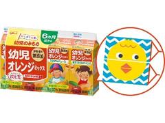 グリコ 幼児オレンジミックス パック100ml×4