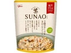 グリコ SUNAO 2種のチーズ&きのこリゾット