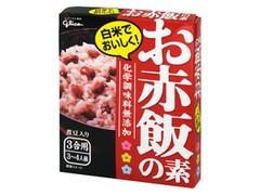 グリコ 白米でおいしく!お赤飯の素 箱200g