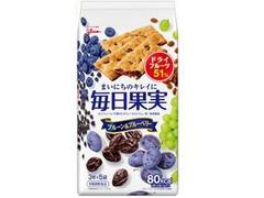 グリコ 毎日果実 プルーン&ブルーベリー 袋3枚×5