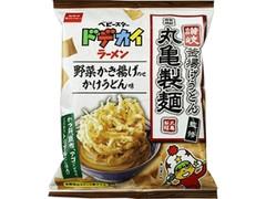 おやつカンパニー ベビースタードデカイラーメン 丸亀製麺 野菜かき揚げのせ かけうどん味 袋68g