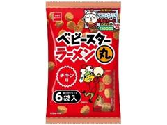 おやつカンパニー ベビースターラーメン丸 チキン味 袋23g×6