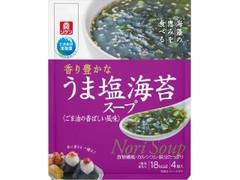 リケン うま塩海苔スープ 袋5.5g×4