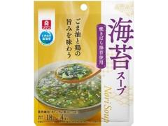 リケン 海苔スープ