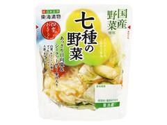 東海漬物 7種の野菜 あっさり日向夏&シークヮーサー果汁入り 袋90g