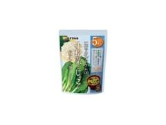 ハナマルキ 小松菜とじゃこのみそ汁 袋16.7g×5