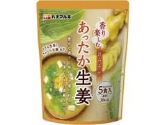 ハナマルキ 香り楽しむおみそ汁 あったか生姜