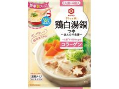 キッコーマン Plus鍋 鶏白湯鍋つゆ ほんのり生姜