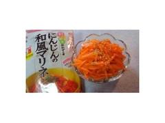 キッコーマン食品 にんじんの和風マリネ 袋40g×2