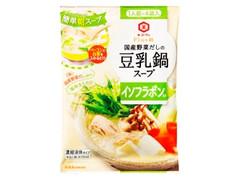 キッコーマン Plus鍋 国産野菜だしの豆乳鍋スープ