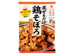 キッコーマン うちのごはん 混ぜるだけの鶏そぼろ 甘辛しょうゆ味 袋58g×2