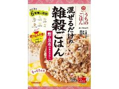 キッコーマン うちのごはん 混ぜごはんの素 雑穀ごはん 鰹と昆布の合わせだし 袋43g×2