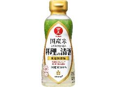 キッコーマン マンジョウ 国産米こだわり仕込み 料理の清酒 ボトル300ml