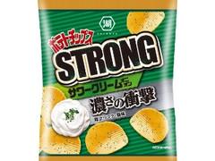 コイケヤ ポテトチップスSTRONG サワークリームオニオン 袋56g
