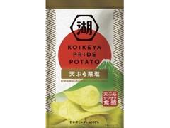 コイケヤ KOIKEYA PRIDE POTATO 天ぷら茶塩 袋60g