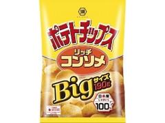 コイケヤ ポテトチップス リッチコンソメ Bigサイズ 袋190g