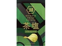 コイケヤ KOIKEYA PRIDE POTATO 芳醇 重ね茶塩 袋60g
