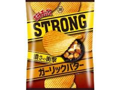 コイケヤ ポテトチップスSTRONG ガーリックバター 袋56g