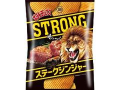 コイケヤ ポテトチップスSTRONG ステークジンジャー 袋54g