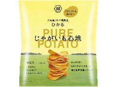 コイケヤ じゃがいも心地 塩と北海道産バターで ひかる 袋58g