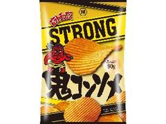 コイケヤ ポテトチップスSTRONG 鬼コンソメ 袋90g